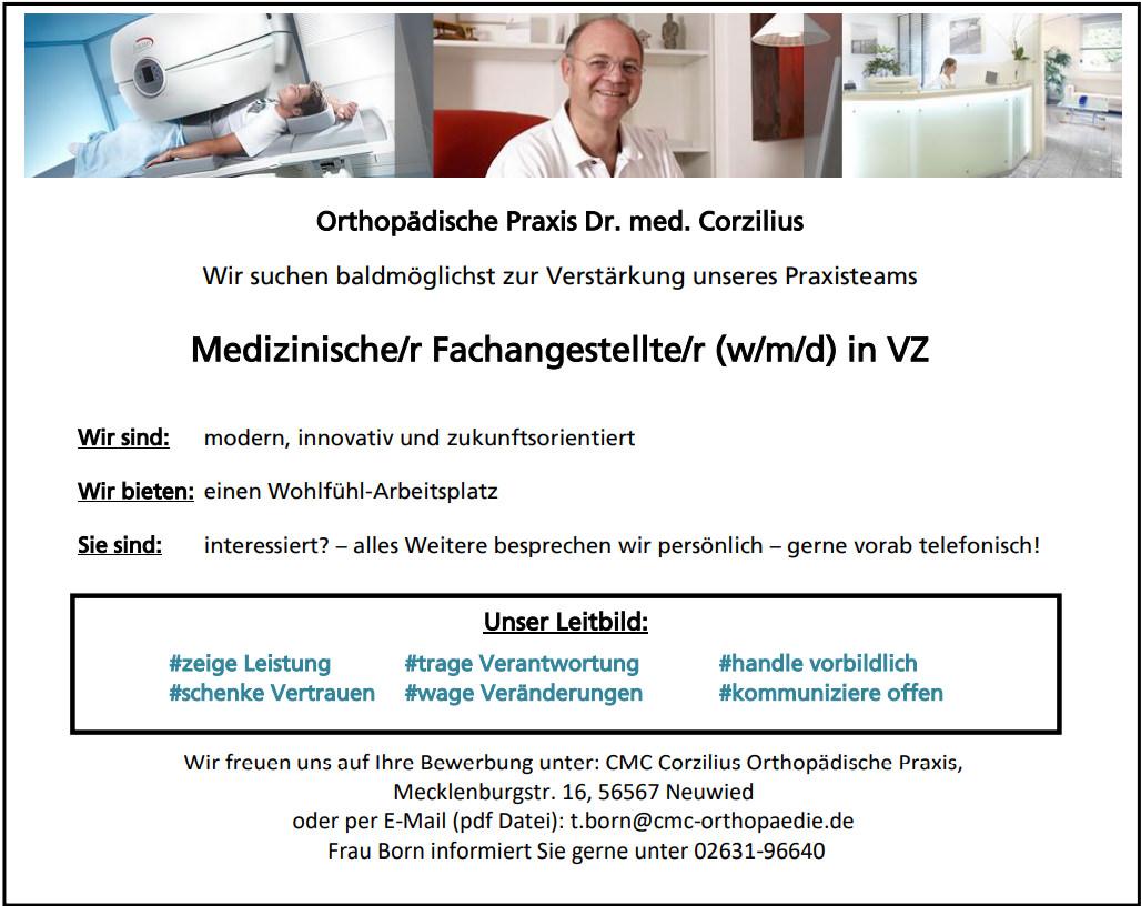 Jobs Karriere CMC Orthopaedie